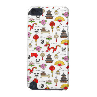China Symbols Pattern iPod Touch (5th Generation) Cases