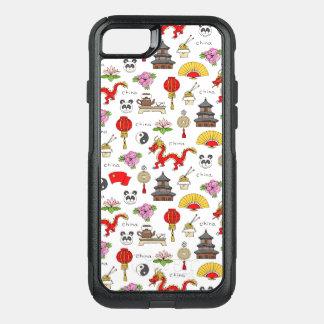 China Symbols Pattern OtterBox Commuter iPhone 8/7 Case