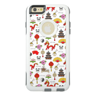 China Symbols Pattern OtterBox iPhone 6/6s Plus Case