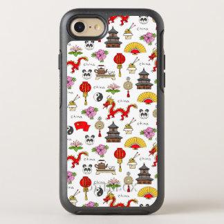 China Symbols Pattern OtterBox Symmetry iPhone 8/7 Case