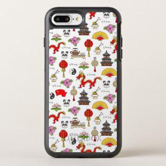 China Symbols Pattern OtterBox Symmetry iPhone 8 Plus/7 Plus Case