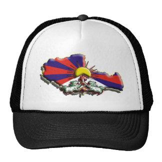 China: Tibet (3d) Trucker Hat
