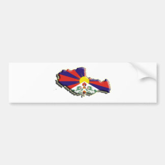 China: Tibet Bumper Sticker