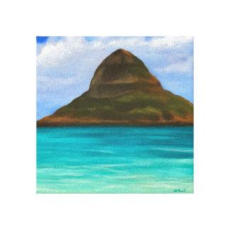Chinaman's Hat Hawaii Canvas Print