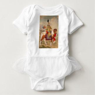 China's Qianlong Emperor 乾隆帝 in Ceremonial Armour Baby Bodysuit