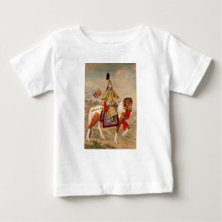 China's Qianlong Emperor 乾隆帝 in Ceremonial Armour Baby T-Shirt