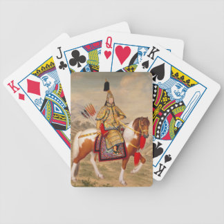 China's Qianlong Emperor 乾隆帝 in Ceremonial Armour Bicycle Playing Cards