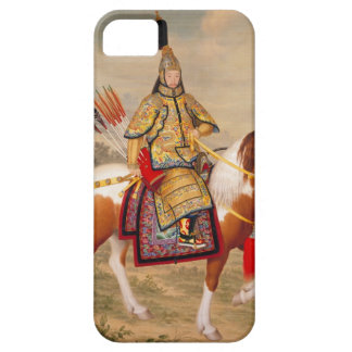 China's Qianlong Emperor 乾隆帝 in Ceremonial Armour iPhone 5 Covers