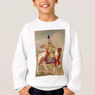 China's Qianlong Emperor 乾隆帝 in Ceremonial Armour Sweatshirt