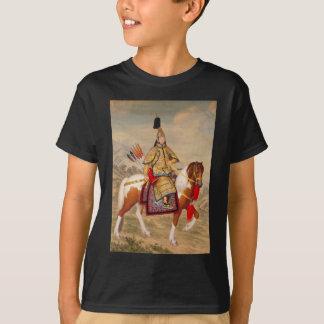China's Qianlong Emperor 乾隆帝 in Ceremonial Armour T-Shirt