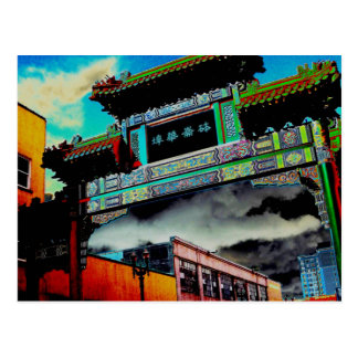 Chinatown Gate Postcard