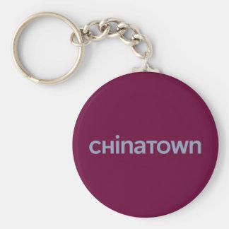 Chinatown Keychain