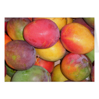 Chinatown Mangoes Card