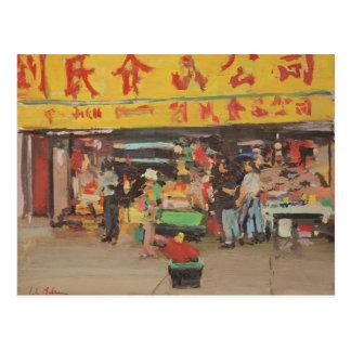 Chinatown New York 2012 Postcard