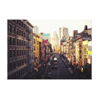 Chinatown New York City Canvas Print
