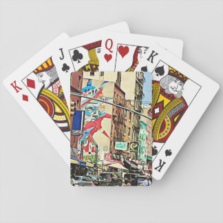 Chinatown New York City Playing Cards