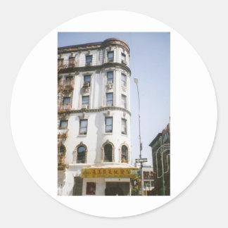 Chinatown New York City Round Sticker
