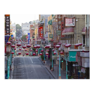 Chinatown on Grant Street in San Francisco, Postcard