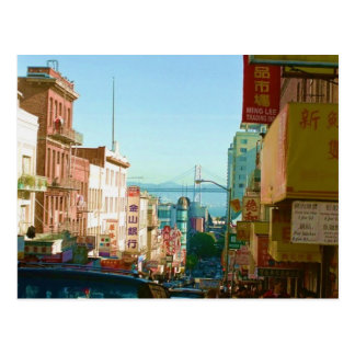 Chinatown  San Francisco Postcard