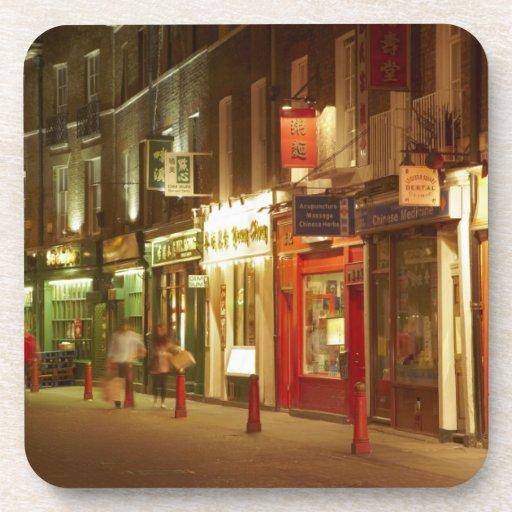 Chinatown, Soho, London, England, United Kingdom Beverage Coasters