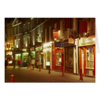 Chinatown, Soho, London, England, United Kingdom Greeting Card