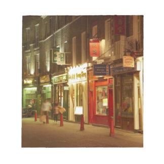 Chinatown, Soho, London, England, United Kingdom Memo Note Pad