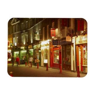 Chinatown, Soho, London, England, United Kingdom Rectangular Photo Magnet