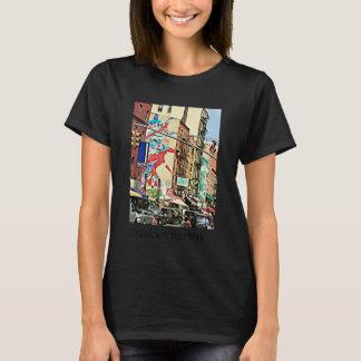 Chinatown street scene, New York t-shirt