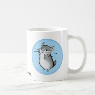 Chinchilla hug coffee mug
