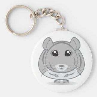 Chinchilla Keychain Porte-clé