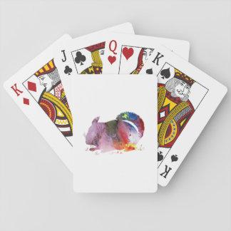 Chinchilla Playing Cards