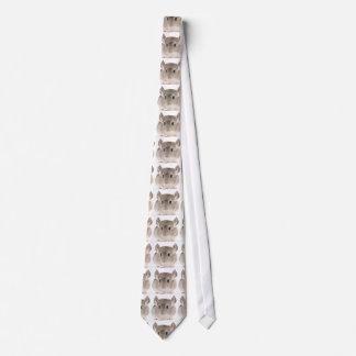 Chinchilla Tie