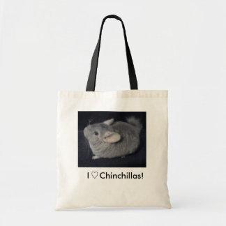 Chinchilla Tote! Tote Bag