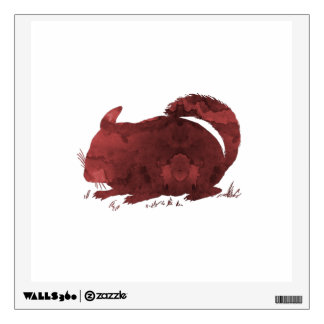 Chinchilla Wall Sticker