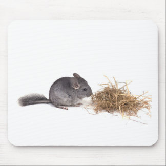 chinchillas mouse pad