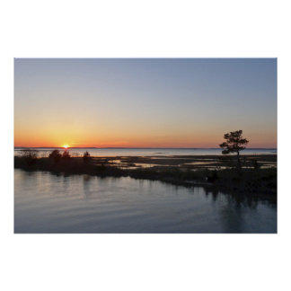 Chincoteague Sunset I Virginia Landscape Poster