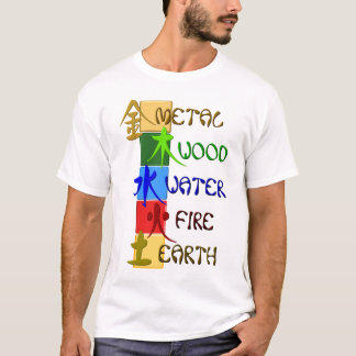 Chinese 5 elements T-Shirt