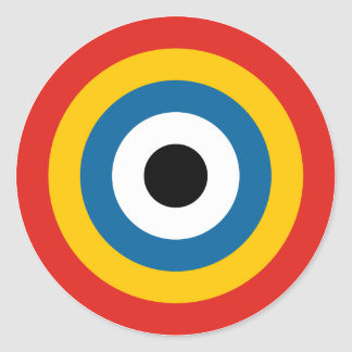 Chinese Air Force Roundel 1920-1921 Round Sticker