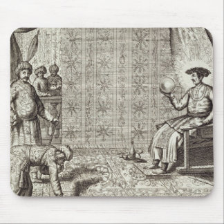 Chinese Ambassadors to an Indian Ruler, from 'Chin Mouse Pad