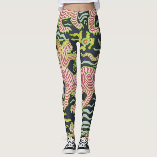 Chinese Art women's Leggings