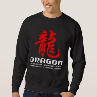 Chinese Astrology Dragon Black T-Shirt