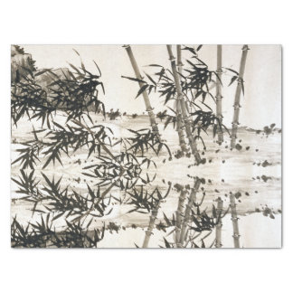 Chinese Bamboo Spring Rains Asian Art Tissue Paper