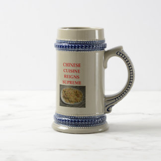 CHINESE BEER STEIN