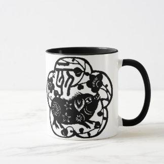 Chinese Boar Mug