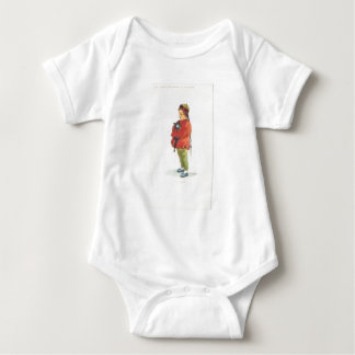 Chinese Boy and Playmate Baby Bodysuit