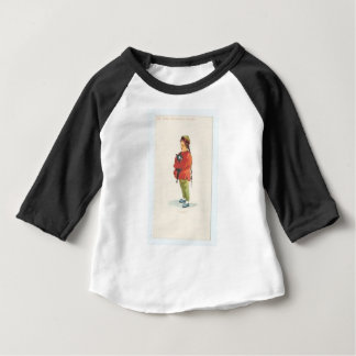 Chinese Boy and Playmate Baby T-Shirt