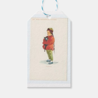 Chinese Boy and Playmate Pack Of Gift Tags