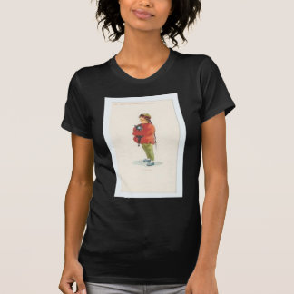 Chinese Boy and Playmate T-Shirt