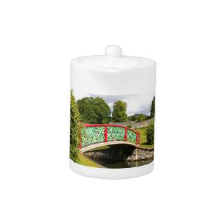 Chinese bridge, gardens, Scotland