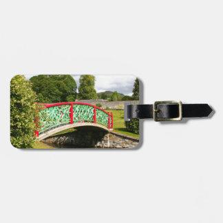 Chinese bridge, gardens, Scotland Luggage Tag